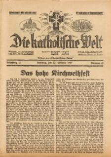 Die Katholische Welt, 1937, Jg. 13, Nr. 42