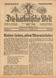 Die Katholische Welt, 1937, Jg. 13, Nr. 50