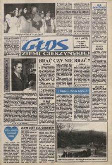 Głos Ziemi Cieszyńskiej, 1994, Nry 1-51/52