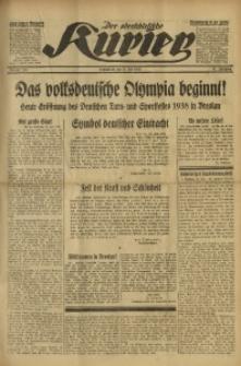 Der Oberschlesische Kurier, 1938, Jg. 32, Nr. 181