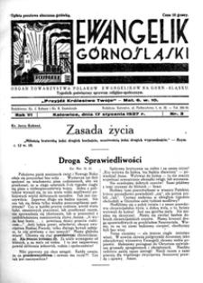 Ewangelik Górnośląski, 1937, R. 6, nr 3