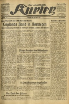 Der Oberschlesische Kurier, 1940, Jg. 34, Nr. 111