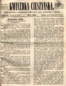 Gwiazdka Cieszyńska, 1864, nr 43