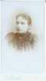 Brzeżany. Portret młodej kobiety, około 1890 r.