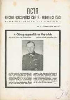 Acta Archiepiscopalis Curiae Olomucensis pro parte Sudetica et Borussica 1942, nr 8.