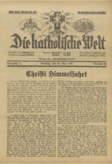 Die Katholische Welt, 1938, Jg. 14, Nr. 22