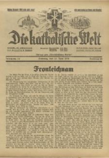 Die Katholische Welt, 1938, Jg. 14, Nr. 25