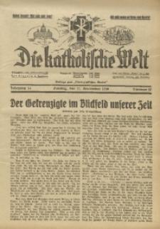 Die Katholische Welt, 1938, Jg. 14, Nr. 37