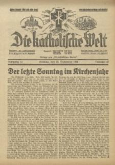 Die Katholische Welt, 1938, Jg. 14, Nr. 47