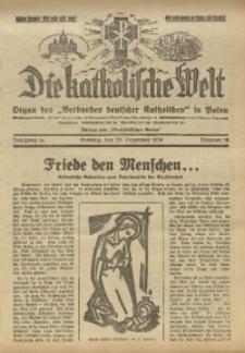 Die Katholische Welt, 1938, Jg. 14, Nr. 52