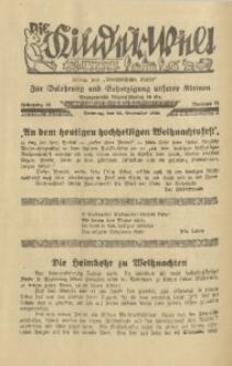 Die Kinderwelt, 1938, Jg. 12, Nr. 52