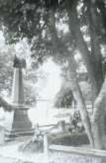 Brzeżany. Pomnik poległym w bitwie pod Sadową 3 lipca 1866 r.