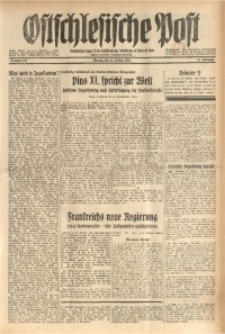 Ostschlesische Post, 1934, Jg. 25, Nr. 237