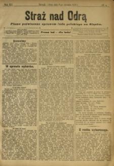 Straż nad Odrą, 1912, R. 12, nr 3