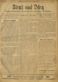 Straż nad Odrą, 1912, R. 12, nr 9