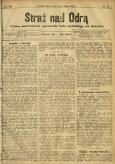Straż nad Odrą, 1912, R. 12, nr 18