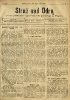 Straż nad Odrą, 1912, R. 12, nr 21