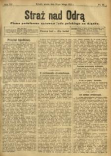 Straż nad Odrą, 1912, R. 12, nr 24