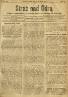 Straż nad Odrą, 1912, R. 12, nr 35