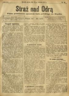 Straż nad Odrą, 1912, R. 12, nr 48