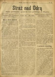 Straż nad Odrą, 1912, R. 12, nr 61