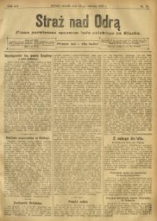 Straż nad Odrą, 1912, R. 12, nr 76