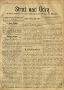 Straż nad Odrą, 1912, R. 12, nr 78