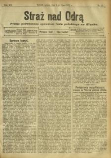 Straż nad Odrą, 1912, R. 12, nr 81