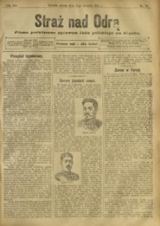Straż nad Odrą, 1912, R. 12, nr 93