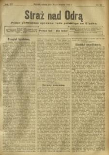 Straż nad Odrą, 1912, R. 12, nr 96
