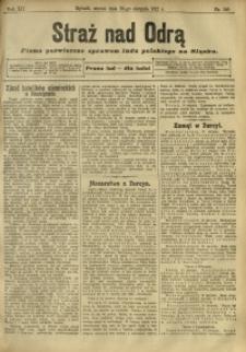 Straż nad Odrą, 1912, R. 12, nr 100
