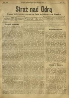 Straż nad Odrą, 1912, R. 12, nr 102