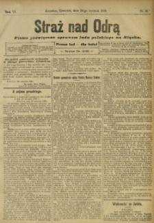 Straż nad Odrą, 1908, R. 6, nr 13