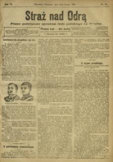 Straż nad Odrą, 1908, R. 6, nr 16