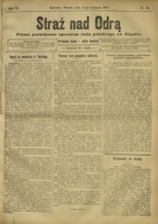 Straż nad Odrą, 1908, R. 6, nr 48