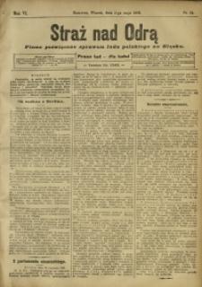 Straż nad Odrą, 1908, R. 6, nr 54