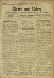 Straż nad Odrą, 1908, R. 6, nr 55