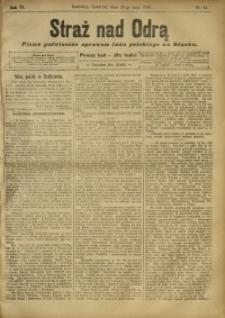 Straż nad Odrą, 1908, R. 6, nr 64