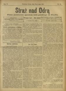 Straż nad Odrą, 1908, R. 6, nr 65