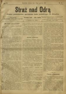 Straż nad Odrą, 1908, R. 6, nr 71