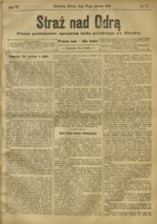 Straż nad Odrą, 1908, R. 6, nr 77
