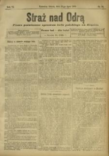 Straż nad Odrą, 1908, R. 6, nr 89