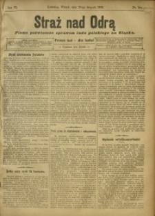 Straż nad Odrą, 1908, R. 6, nr 102