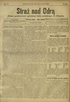 Straż nad Odrą, 1908, R. 6, nr 105