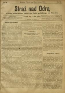 Straż nad Odrą, 1908, R. 6, nr 117