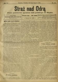 Straż nad Odrą, 1908, R. 6, nr 133