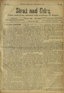 Straż nad Odrą, 1908, R. 6, nr 138