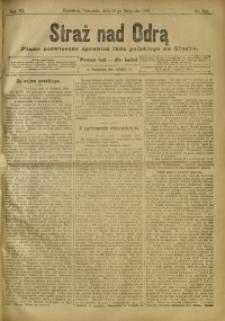 Straż nad Odrą, 1908, R. 6, nr 142