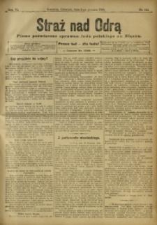 Straż nad Odrą, 1908, R. 6, nr 145