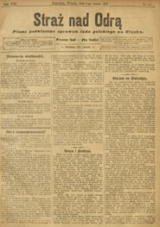 Straż nad Odrą, 1910, R. 8, nr 14
